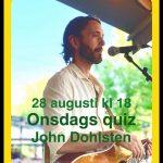 Dags för onsdagsquiz på Materia. Denna gången är John Dohlsten quizmaster. Temat blir idrott och dess historia.  <a href=